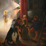 Theatrical Paintings on Display at Shirlington