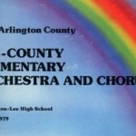 1979 Arlington County All-County Elementary Orchestra and Chorus album cover