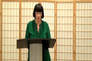 Video: Poetry Reading with Melanie McCabe
