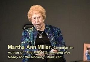 Video: Martha Ann Miller