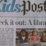 "In the News: KidsPost Checks Out ""American Girl Doll Lending Program"""