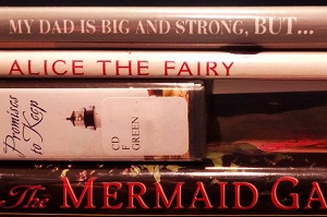 Spine Poetry Contest Slider