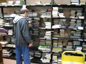 sorting room