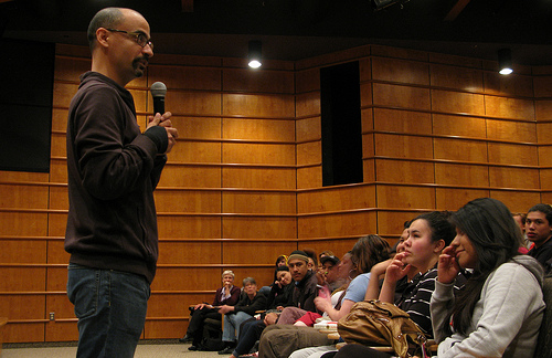 author junot diaz at Marymount