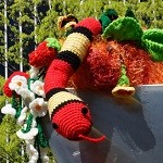 Public Art: Cupid's Garden Comes Alive with Yarn