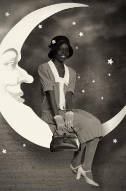 Girl on Moon 813 Ball