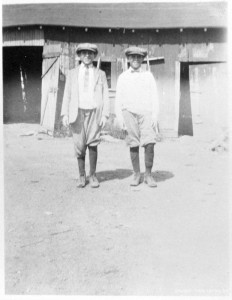 Twin brothers Joe and Hyme Sher, circa 1925.