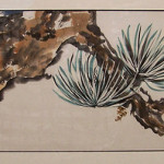 Anne Marie Kalvin Klein's Brush Painting on Rice Paper