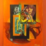Julian Oteyza's Kinetic Paintings