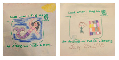 What will you draw on your Summer Reading bag?