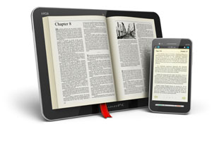 eBook eReader slider