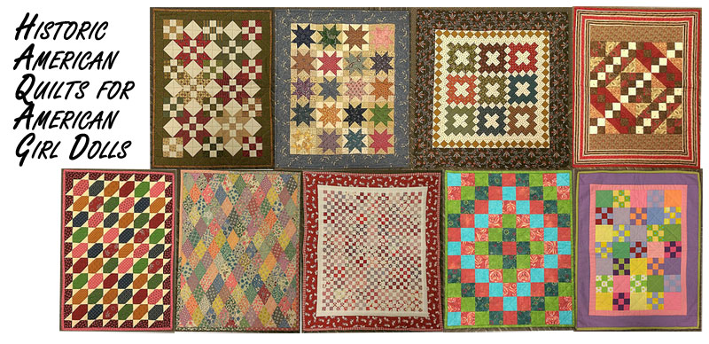 AG Doll quilts fb