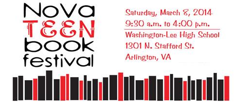 Nova Teen book festival banner