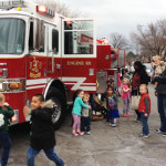 Fire Station 5 Visits Aurora Hills Kids Club