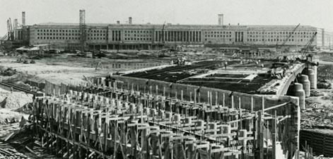 Pentagon Construction, aprox 1942