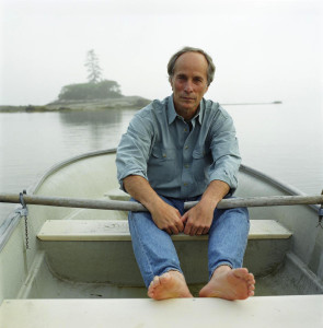 RichardFord in canoe