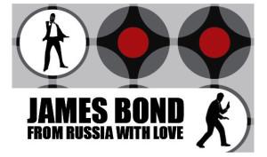 Lit Up Ball at Artisphere: Bond, James Bond Theme
