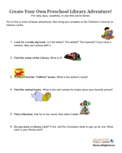 Preschool Library Adventure Image 2 copy