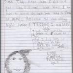 Love Victoria, Age 9