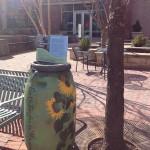 Rain Barrel Art on the Shirlington Plaza