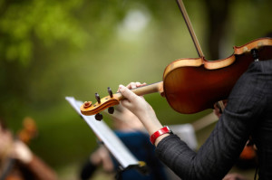 Symphony Orchestra of Northern Virginia Chamber Music in the Library Garden--Glencarlyn