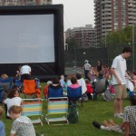 Outdoor Movies in August at Central