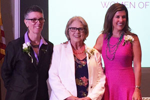 Library Director Receives Women of Vision Award