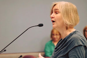 Katherine E. Young Inducted as Arlington County Poet Laureate