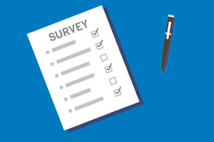 Complete a Short Survey about the Library Website