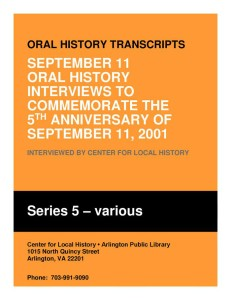 Oral History Transcripts