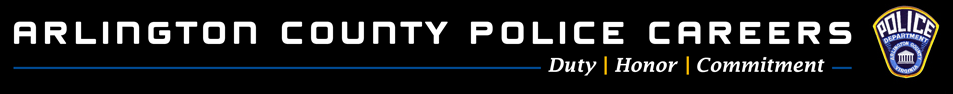 Arlington County Police Department Recruitment